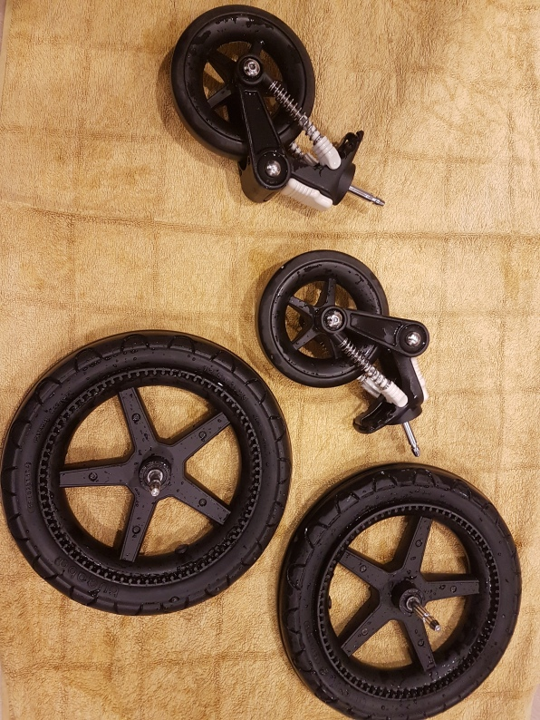 Drying Bugaboo Tyres